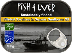 FE002 Sardine fillets in sunflower oil (OrganicoRealfoods) Tags: fish brandbank sunfloweroil sardine uk