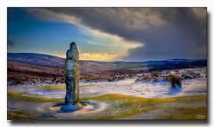 Snowy-Bennetts-Cross (jeremy willcocks) Tags: bennettscross dartmoor devon moor uk snow clouds sky colour landscape winter grass jeremywillcocks wwwsouthwestscenesmeuk fujix100t