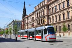 Hässliches Gesicht (trainspotter64) Tags: strasenbahn tramway tram tranvia streetcar tschechien mähren škoda brünn brno 13t dpmb
