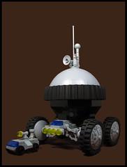 The Great Explorer (Karf Oohlu) Tags: lego moc microscale microspacetopia rover scifi