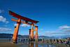 厳島神社大鳥居 (mk_is_here) Tags: japan hiroshima 日本 広島 厳島 宮島 miyajima itsukushima nikon d800
