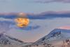 Sunset Moon (Trygve Selmer) Tags: måne solnedgang sunset