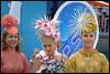 Trackside (cupitt1) Tags: women fashion girls models racetrack races field dresses hats