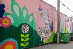 147 East Broadway (Mariko Ishikawa) Tags: canada britishcolumbia vancouver mountpleasant mural art streetart publicart