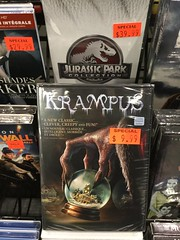 Krampus (splinky9000) Tags: kingston ontario cataraqui mall now and then record store krampus horror movie christmas dvd 2015