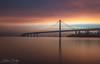 Bay Bridge Sunrise (wandering indian) Tags: sf sanfrancisco baybridge bayarea kedardatta landscape city cityscape bridge sunrise sunlight cloudsstormssunsetssunrises longexposure nikon nikond810 california