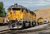 Echo's Gang of Four (jamesbelmont) Tags: unionpacific sd402 echo riverdale ogden evanston emd railway