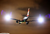 G-LCYR - Embraer ERJ-190SR - British Airways (BA CityFlyer) (KarlADrage) Tags: glcyr embraererj190 erj190 erj190sr britishairways bacityflyer lcy londoncityairport londoncity night afterdark flashing