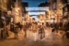 Eastgate Street, Chester (RCARCARCA) Tags: lights 2017 eastgatebridge chester 5diii canon easgatestreet 2470l christmas art