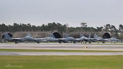 Lakenheath Eagles (mattmckie98) Tags: aircraft aviation airforce lakenheath usaf us military jet f15 fighter raf nikon