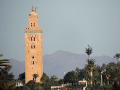 Marrakech's symbol (Shahrazad26) Tags: marrakech marokko morocco maroc koutoubia minaret mosque moskee moschee mosquée moschea mezquita bergen mountains montagne atlas