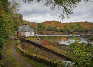 The  Loch Keepers Cottage..
