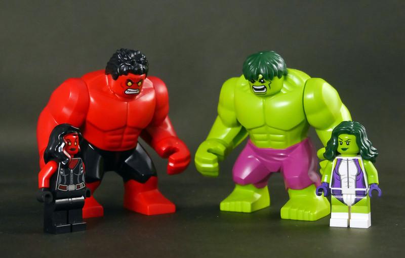 76078 Hulk vs. Red Hulk