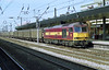 60030 rolls through Doncaster Station with a steel or Enterprise train working from Immingham on 15-7-03. Copyright Ian Cuthbertson (I C railway photo's) Tags: class60 tug 60030 doncaster ews steeltrain