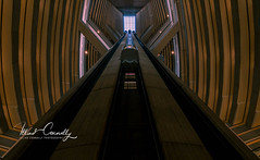 Escape Pod (4 Pete Seek) Tags: marriottmarquis atlantamarriottmarquis marriotthotel atlantahotel architecture atlantaarchitecture modernarchitecture abstractarchitecture wideangle ultrawideangle superwideangle laowa15mmf2 mirrorless a7rii
