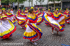 Colombia | 2017 Paris Carnaval Tropical  © Catherine Crawford 2017 (Zimbrit) Tags: colombia tropicalcarnival 2017pariscarnavaltropical paris streetscenes streetscapes streetparade people peopleincities