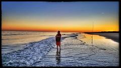 10/24/17 - Sunset at Coligny Beach, Hilton Head Island, SC (CubMelodic23) Tags: october 2017 vacation trip hdr hiltonheadisland southcarolina colignybeach beach ocean sand me dave selfportrait