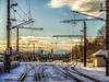 Bregenz - Der Wiehnachtsausflug (noa1146) Tags: bregenz weihnachtsmarkt schnee christkindlsmarkt bodensee vorarlberg bahnhof gleisanlagen bahnübergang lichtstimmung