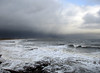Rocky Island view between heavy showers (DavidWF2009) Tags: northumberland blyrh seatonsluice sea waves stormysky clouds rockyisland