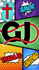 Fondo GJ 6 (zalatu98) Tags: generacion josue fondo movil celular amor unidad trabajo de pantalla fondodepantalla cristiano proyecto comic disco color colores pizarra pizarron negro blanco azul celeste gris