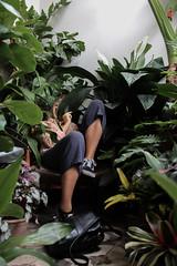Hidden Meg (Josiedurney) Tags: london eastlondon adventure adventures fun explore exploration myends towerhamlets bethnalgreen hackney canarywharf hipster indie style tumblr green plants nature houseinterior interiordecor natural daylight light shadows selling economy cute cool inspiration plant pinterest leaves white classic clean succulents palms flowers cacti lillies airplants hangingplants trailingplants plantpots creative millenials girl blonde portraits portrait pose hide naturallight photography arts artsmagazine conservatory archives shop beautiful tanned blue navy sudejacket pinkjacket naturalblonde