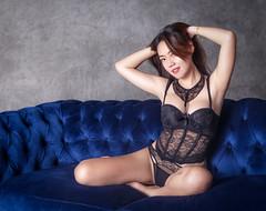 Black Bask by Photobaan - Asian model in a black bask