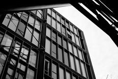 (James-Palmer) Tags: london apartments uk england flats modern britain minimal modernist minimalist new grids windows blackandwhite urban architects architecture newbuild geometry geometric ratio aspect perspective angles