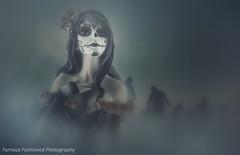 Photo Artistry - Darkness Rises (mcleod.robbie) Tags: night scary silhouette sky spooky tombstone nightsky nature zombie fog dark darkness fantasy