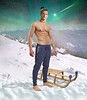 Holiday (irestless) Tags: holiday arm arms abdominal air allaperto man body blonde chest colors clouds color face neck eye eyes men hairy hair hot hand irestless irestles nipple lips light wind leg legs look model models muscles male morning mist star stars nature new snow original uomo portrait persone person turquoise green sledding christmas time