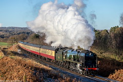 34027 at Foley Park 28.12.2017 (Wolfie2man) Tags: 34027 tawvalley bulleidpacific westcountry westcountryclass steamengine steam steamtrain severnvalleyrailway