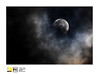 Half Moon Eclipse (2121studio) Tags: moon eclipse gerhanabulan astrology astrophotography naturephotography alam