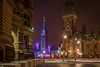 Christmas Lights on Parliament : December 22, 2017 (jpeltzer) Tags: ottawa night christmaslights parliament parliamenthill peacetower