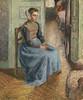 """Petite Bonne Flamande, dite la """"Rosa"""" (C Pissarro - PDRS 1112) (photopoésie) Tags: cpissarro pdrs1112 1896"""