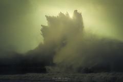 Perfect storm (Mimadeo) Tags: breakwater big wave breaking storm stormy dramatic wind energy cyclone hurricane dark risk seascape sea ocean water coast rough waves coastal spray coastline foam splash shore weather nobody breaker large powerful pier heavy huge tempest toned green mood moody atmospheric