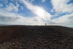 On top of Saxhóll crater at Snæfellsnes, Iceland (thorrisig) Tags: 15072017 helene himininn himinn saxhóll snæfellsnes landslag náttúra víðátta dorres sigurgeirsson sigurgeirssonþorfinnur thorrisig thorfinnursigurgeirsson þorrisig thorri thorfinnur þorfinnur þorri þorfinnursigurgeirsson iceland ísland island sky peopleinlandscape sunlight sun