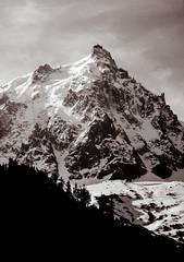 Aiguille du Midi: Chamonix, France BW: 1993 (mharoldsewell) Tags: 1993 2018 8000i aiguilledumidi chamonix france frenchalps georgia kodachrome kodachrome64 maxxum minolta mharoldsewell mikesewell photos slides