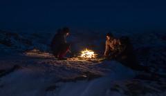 By the fire... (bent inge) Tags: norway rogaland strand heiahorn january 2018 bentingeask fire utno nightshot snow norwegianwinter