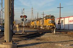 UP local in Vernon DSCF7671 (jsmatlak) Tags: vernon california los angeles laj up union pacific freight railroad train