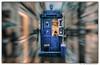 Who`s Off (Gordon McCallum) Tags: vintagebluepolicebox tardis coffeehut streetvendor streetscene buchannansteet glasgow glasgowcitycentre scotland