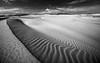 Sands melody (Ettore Trevisiol) Tags: ettore trevisiol nikon d7200 d300 sigma 17 50 28 nikkor 55 200 vr 10 20 fuerteventura spain island landscape seascape canary canarian corralejo natural park black white desert dunes monochrome