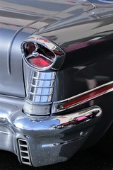 Rear tail light (qorp38) Tags: lamp tail light 1957 classic car auto oldsmobile chrome sundaylights