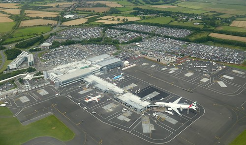Newcastle Airport From Above