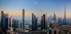 CITYSCAPE DUBAI (hisalman) Tags: dubai uae rooftop panorama towers skyline skyscrappers city cityscape buildings canonme hisalman salmanahmed