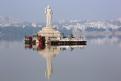 Buddha Statue of Hyderabad (Me & My 5D3) Tags: hussain sagar lake buddha statue monument hyderabad india canon 5d mk iii