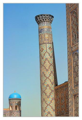 Samarqand UZ - Registan Sher-Dor-Madrasa 13