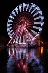 Grande roue (Rollkidd) Tags: montdemarsan noël christmas roue landes couleurs ville city lights colours reflet night nuit rain pluie
