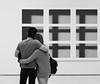 SF Moma (thedailyjaw) Tags: california sanfrancisco sfmoma sf bay area museum art exhibit couple love experience understanding reflection x100f fuji fujifilm filmsimulation acros
