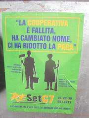 457 (en-ri) Tags: reset g7 manifesto poster torino sony sonysti cooperative esselunga carrefour spa verde blu giallo nero
