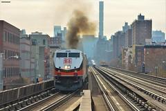 DIESEL POWER!!! (firedmanager) Tags: locomotora locomotive diesel dieselelectric tren train trena ferrocarril railtransport railroad metronorth newhaven generalelectricgenesis genesis p32acdm harlem manhattan newyork