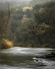 Swirl (keith_shuley) Tags: swirl swirling water stream creek fall foggy austin bullcreek texas texashillcountry